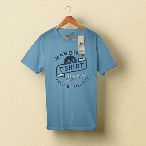 wordpress-designer-theme-t-shirt-blue-hanger